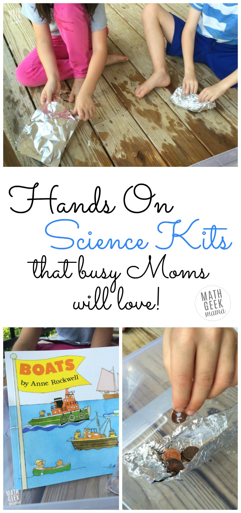 Looking for an easy, low-prep homeschool science option? These science kits from Insight to Learning are so fun, engaging and require almost no prep on your part! Easy STEM for your homeschool!