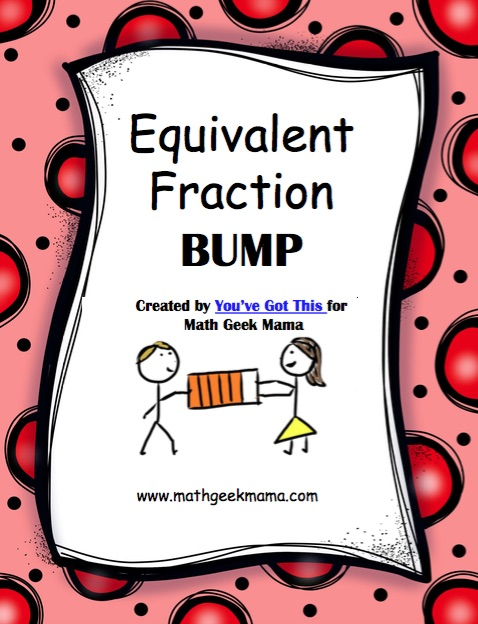 These easy, low-prep games are such a fun way to help kids understand and recognize equivalent fractions. Get your FREE download here, which includes 3 different games!