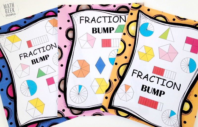 Free Pizza Fraction Printable Activities: Equivalent Fractions