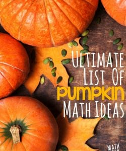 Ultimate Collection of Pumpkin Math Ideas for K-12