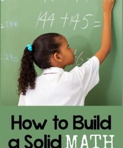 How to Build a Solid Mathematics Foundation