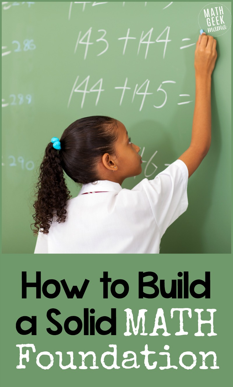 Want to ensure you set your kids up for success in math? There is one thing that's a key building block to a solid math foundation. Click to read more and get tons of ideas and resrouces to support this conceptual understanding in your students.
