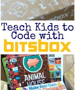 Simple Way to Teach Kids to Code {Bitsbox Review #1}