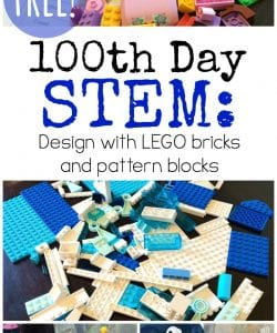 100th Day of School STEM Activities for K-6 {FREE!}