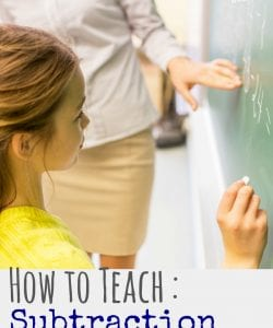 How to Teach Subtraction with Regrouping: Simple Strategy