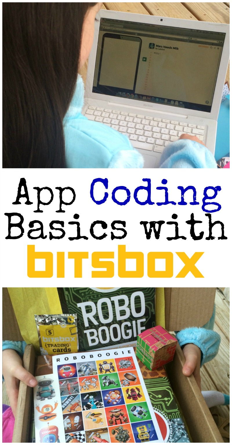 This simple, monthly coding program for kids is such a fun way to teach prgramming! They will learn to code real apps that you can play on your tablet or phone. If you're looking for an engaging way to teach prgramming basics, definitely try Bitsbox.