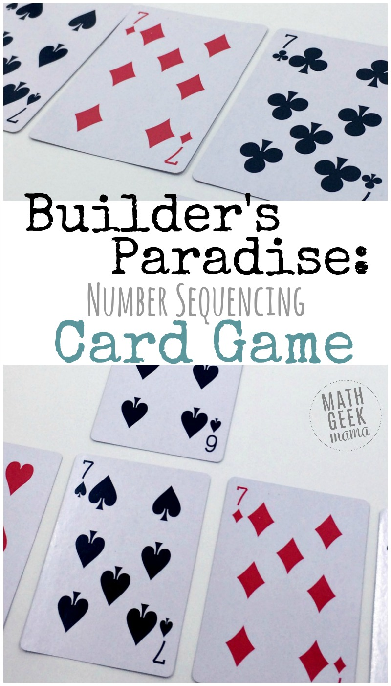 Builder\'s Paradise: Kindergarten Card Game