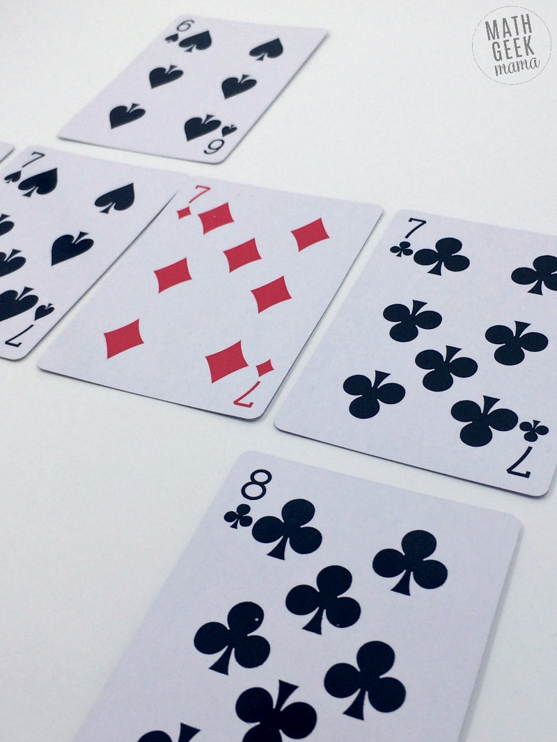 This fun and easy Kindergarten card game is a low-prep way to practice important math skills. Work on sorting, sequencing and counting. All you need is a deck of cards!