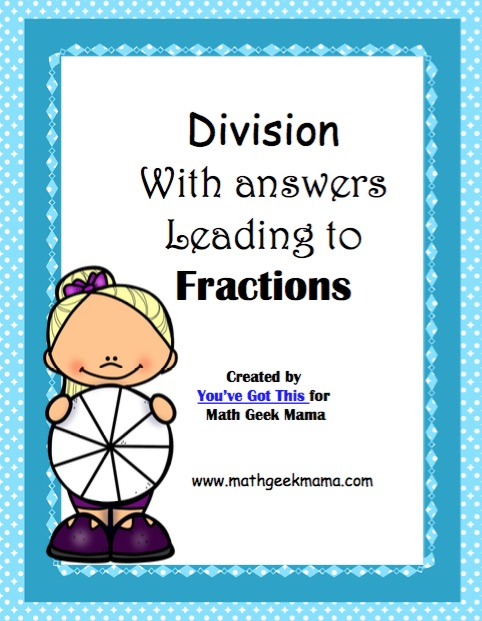 Do your kids struggle when their division problem has a solution that's a fraction? This post shares simple tips for how to teach this skill, as well as a fun and free division BINGO game to practice in a fun way!
