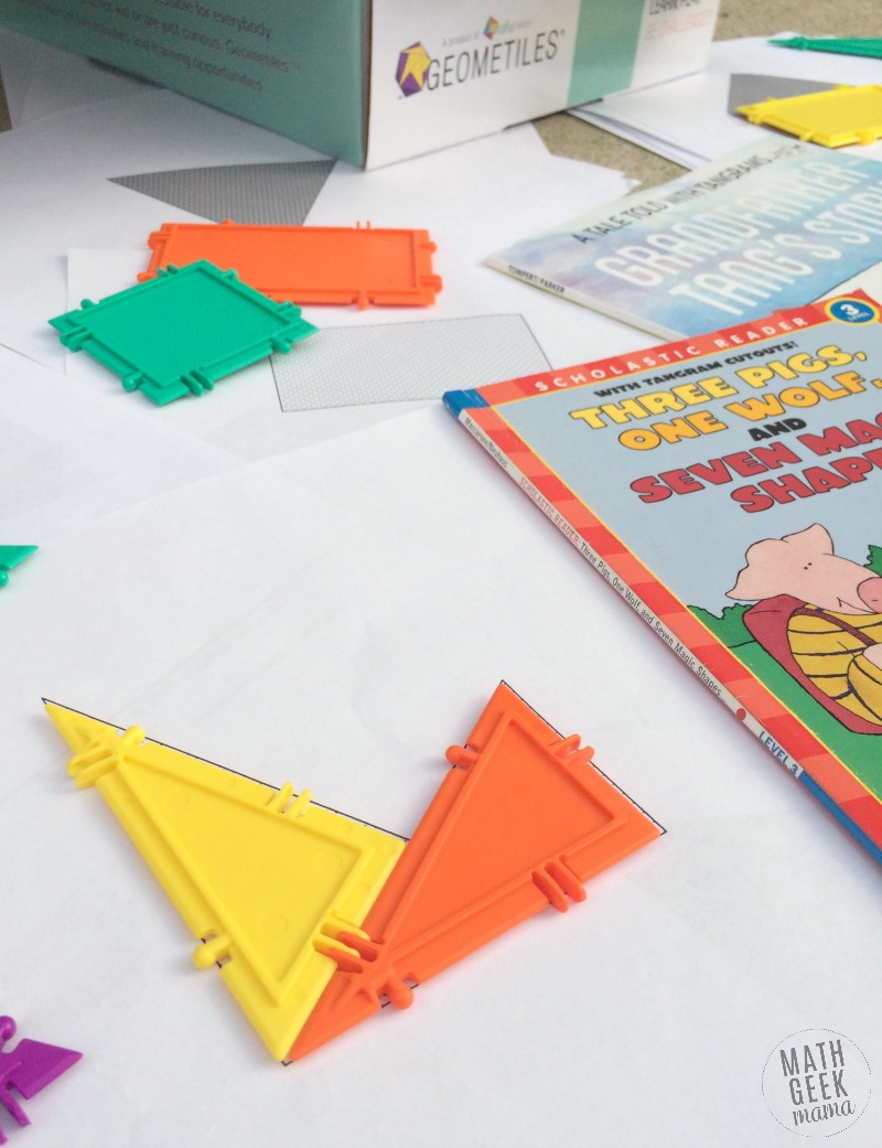 Looking for a fun tangram game or activity for your kids? This will stretch and challenge them in a fun way! With 100 different challenges, there's something for everyone!