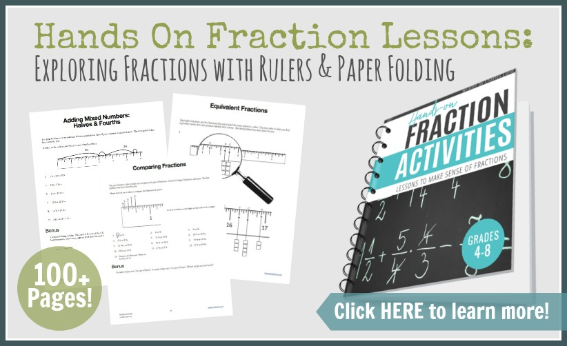 Hands On Fraction Ad Click Here