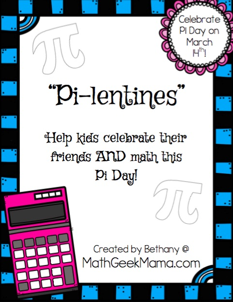 pi lentines cards to share with friends math geek mama. Black Bedroom Furniture Sets. Home Design Ideas