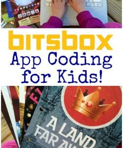 Looking for a fun and engaging way to teach app coding for beginners? Bitsbox is a kid-friendly and innovative option that will teach computer programming basics, while challenging kids in a fun way.