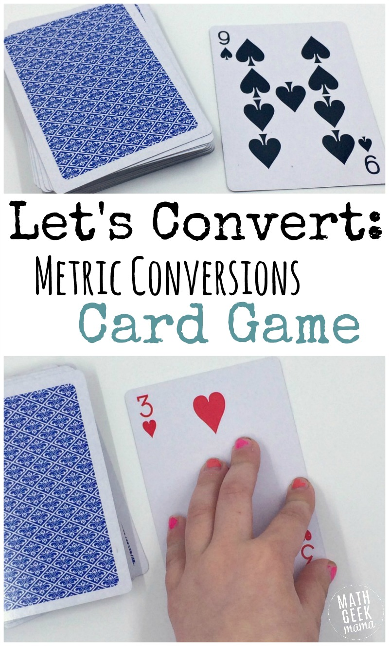 If you need to practice metric conversions, read this post! This metric conversions game is SUPER simple, and will only take 2 minutes to set up, but will reinforce a variety of math skills. Help students practice multiplying and dividing powers of ten, mental math skills and a better understanding of the metric system.