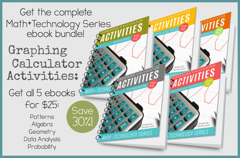 Graphing Calculator Activities Bundle Ad