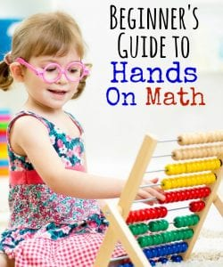 Want to make math more engaging and hands-on, but have no idea where to start? This is for you! Get all the details, tools and tips for fun and meaningful, hands-on math with your kids.