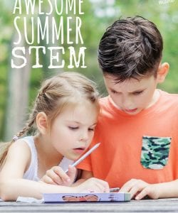 Looking for fun, open-ended math challenges to keep your kiddos busy this summer? You're bound to find something fun in this huge list of Summer STEM ideas for middle schoolers!