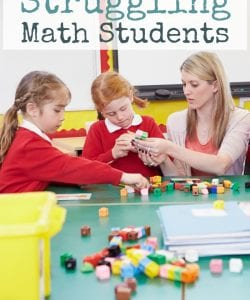 Do you have reluctant math learners? It doesn't have to be a fight and a struggle to engage all kids in math learning. Read the full post for practical tips and ideas to engage kids who struggle or lack the motivation to participate and learn math.