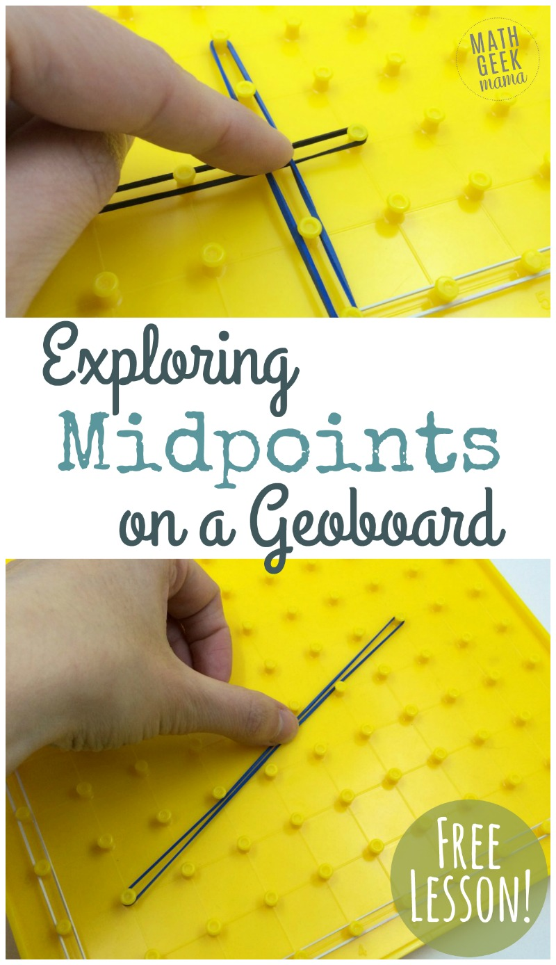 If you want your students to better understand and remember the midpoint formula, grab this fun and engaging midpoint formula activity! They will explore in a fun, hands on way with geoboards, making sense of the formula and testing out different segments.