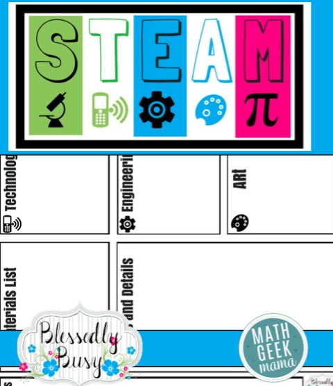 Want to learn how to plan out your OWN fun, engaging and creative STEM lessons? This post breaks it down step by step PLUS includes a handy STEM lesson plan template to help you work out your own lessons.