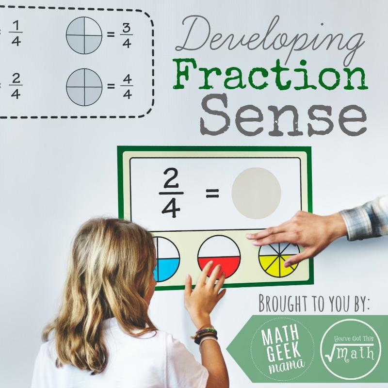 Fraction Sense Series Square