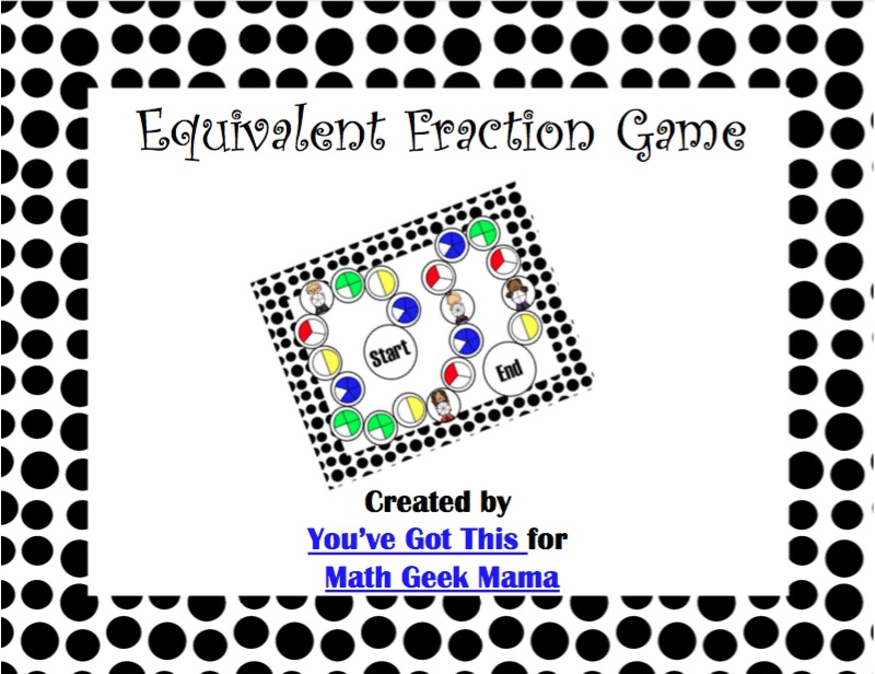 Need extra practice with fractions? This equivalent fractions game printable is the perfect way to challenge kids to find an equivalent fraction and match it to the visual model! By exploring multiple representations, kids will deepen their understanding of fractions and equivalent fractions. Grab this cute free game and enjoy 2 different levels of challenges!