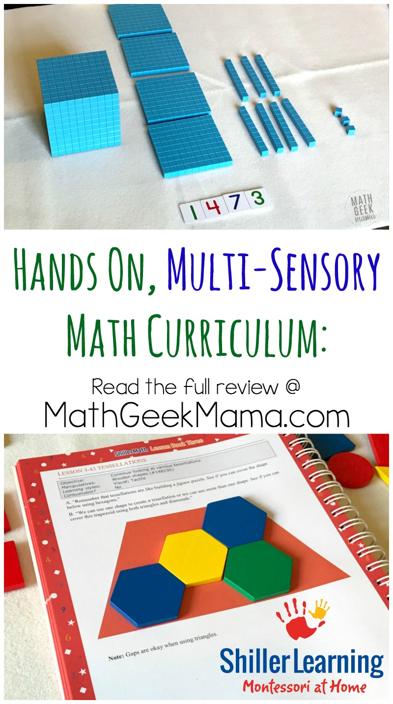 Wondering if ShillerMath is right for your family? There are lots of benefits to this easy to use homeschool math curriculum. Read the complete ShillerMath Review from Math Geek Mama!