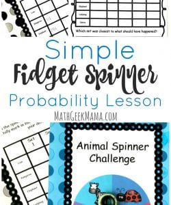 Looking for a way to put those fidget spinners to good use? This fidget spinner math lesson will engage kids while covering lots of important math concepts! They'll learn probability basics, plus practice using tally marks and graphing in this fun fidget spinner math activity. Grab it FREE!