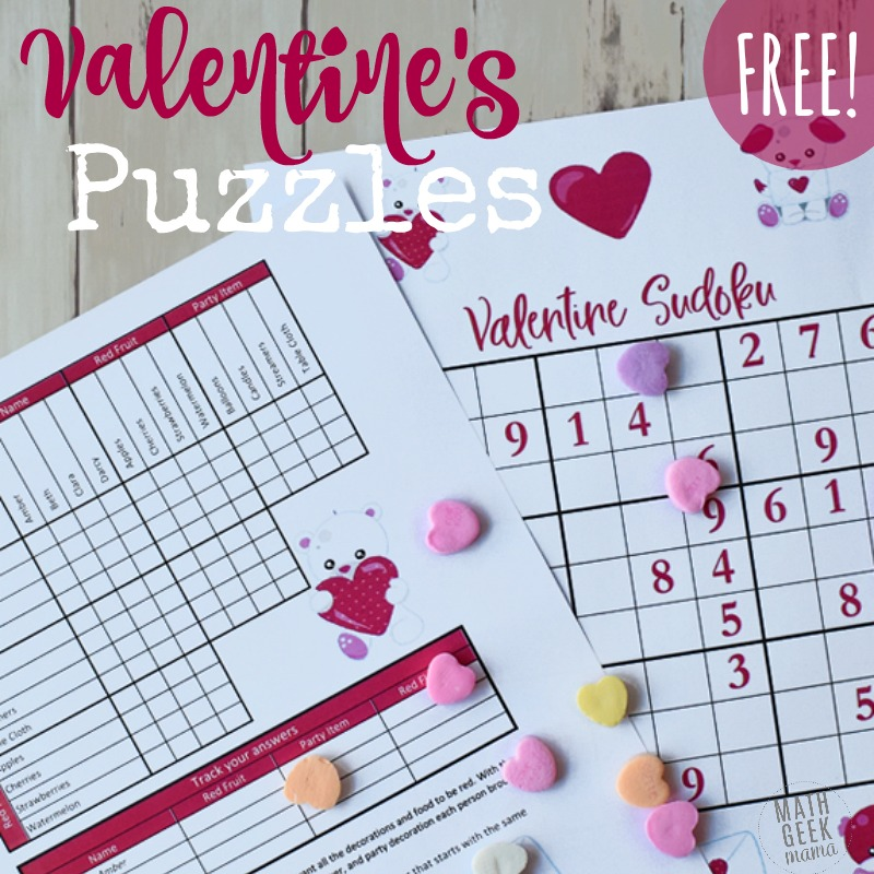 30 Valentine's Day Math Ideas For All Ages. Valentine's Day Math For Middle School And Beyond. Middle School. Valentine S Day Worksheet For Middle School At Clickcart.co