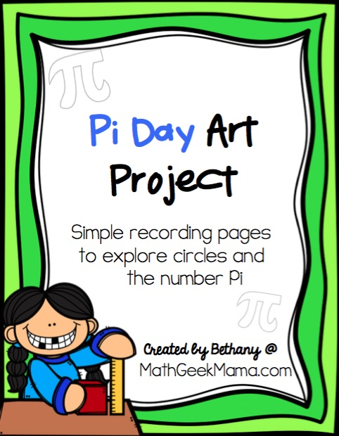 Looking for a fun, yet super simple way to engage your kids this Pi Day? This Pi Day art project is just as fun with paper and colored pencils as it is with sidewalk chalk! Learn more and get a free printable recording page in the full post!