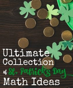 Looking for a unique math challenge this St. Patrick's Day? You're sure to find something in this huge list of ideas! It includes hands on activities, games, printables and STEM challenges for elementary kids to high school!
