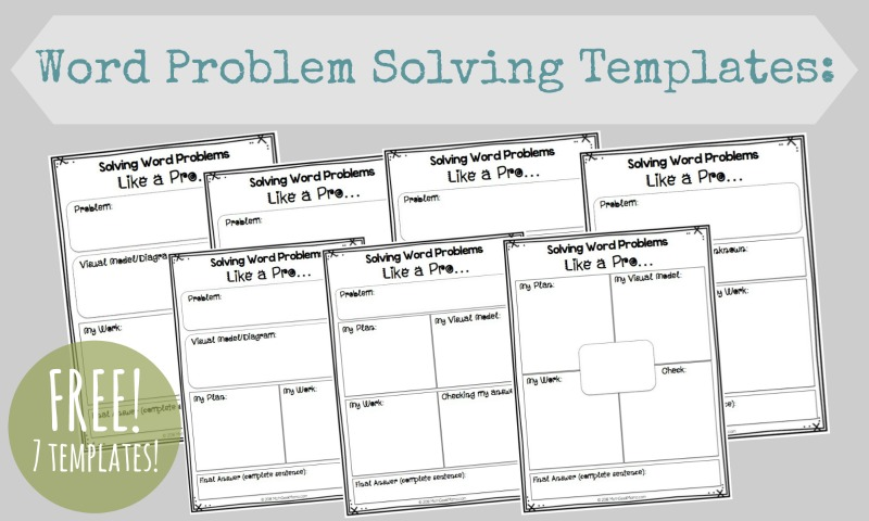 math word problems how to really help kids free printable pages