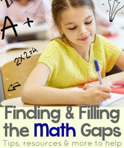 Finding & Filling the Math Gaps