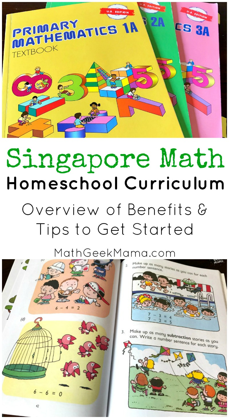 Are you looking for a math curriculum for your homeschool? There are lots of options out there, but learn why this math teacher mom loves Singapore Math. Includes benefits, drawbacks and tips to get started if you'd like to try it out!