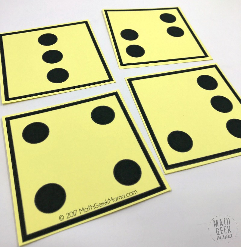 Help your kids build a strong foundation with visual dot cards. These will help kids count, subitize, add, subtract and more with simple, low prep games.