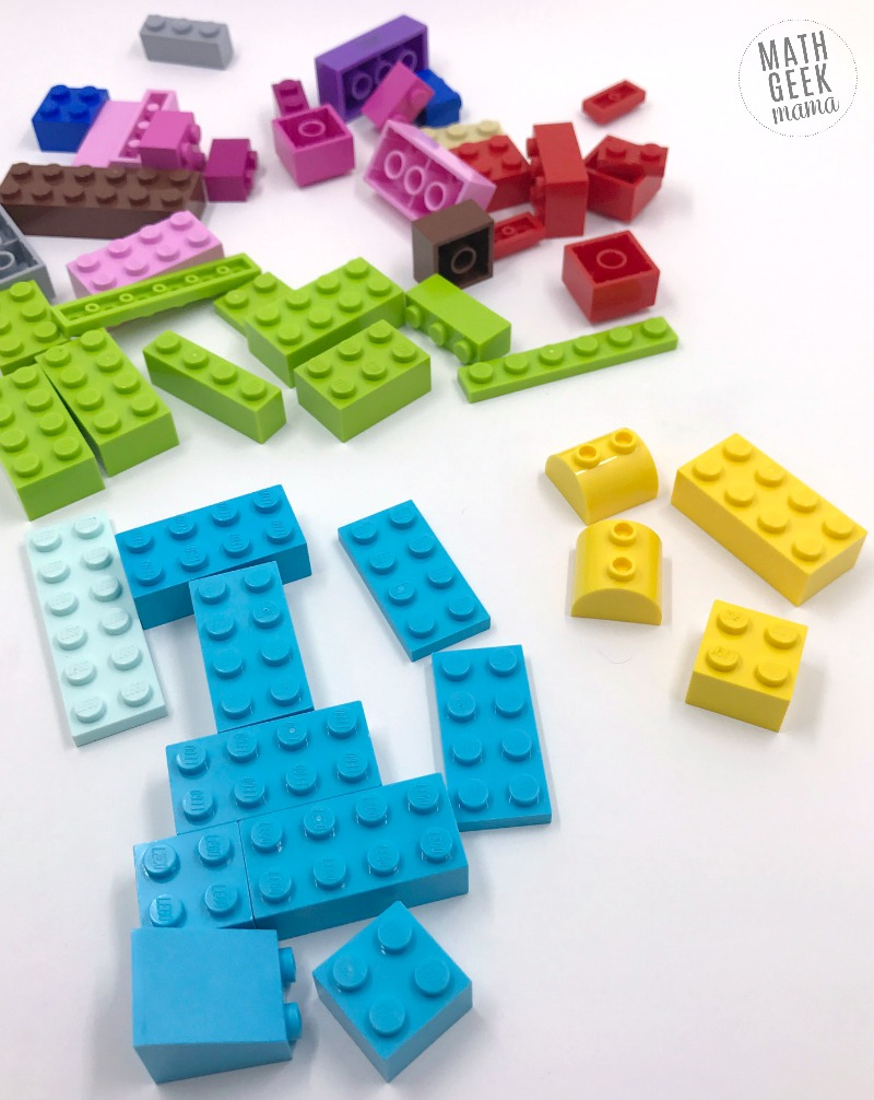 How to Teach Addition & Subtraction with LEGO Bricks