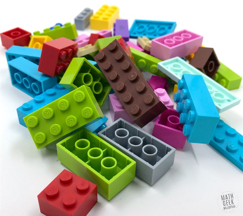 Using LEGO Bricks is a fun, hands on way to introduce and practice addition and subtraction with your kids! This post outlines lots of different examples of ways to explore and play math with LEGO. Your kids will be begging to do math!