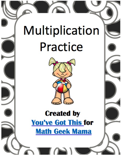 Multiplication Coloring Pages: Easy Practice for Kids {FREE}