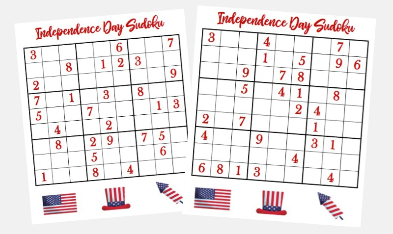 Want something to keep the whole family entertained while you're waiting for fireworks to start? Why not try out this fun set of 4th of July Logic Puzzles! These are great critical thinking challenges for kids ages 9 and up, and will give everyone a unique challenge as you celebrate the 4th.