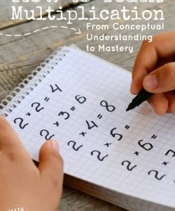 How to Teach Multiplication Facts That Stick {Review & Giveaway!}