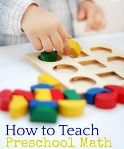 Pre-K Math Activities: HUGE Resource List
