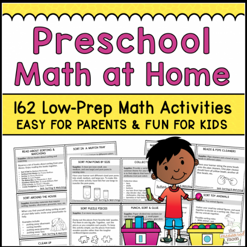 Not sure where to start with teaching your little one math? This huge list of Pre-K math activities, games and resources is the perfect starting point. Learn what skills to cover and find curriculum suggestions and supplements.