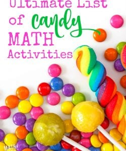 30+ Amazing Candy Math Activities for Kids