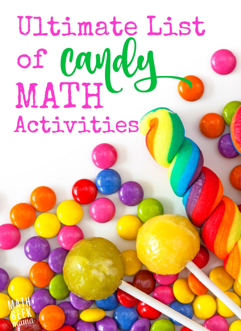 Looking for a way to really engage your kids in math? Try teaching math with candy. This HUGE list includes ideas for Kindergarten through high school, including some really awesome candy STEM ideas. These math ideas are perfect for Easter, Halloween or anytime during the year.