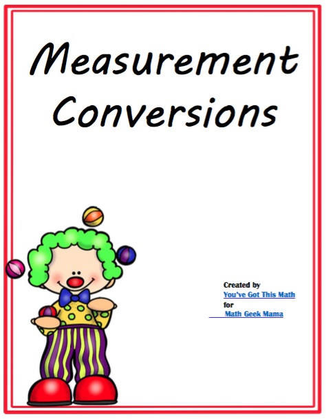 As kids practice measurement conversions with tables, they will strengthen all sorts of math skills. Plus, they will see equivalent measurements and be able to use inverse operations.