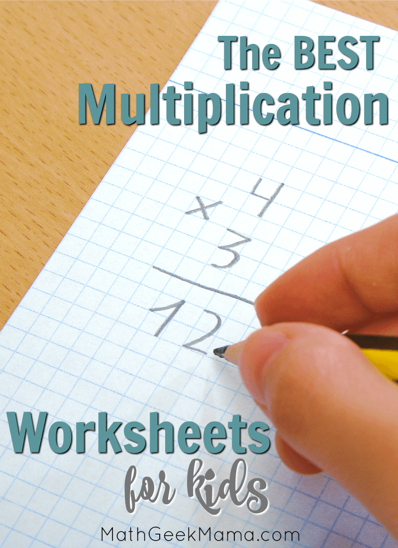 Looking for out of the box multiplication practice? This collection of multiplication facts worksheets includes interactive pages and games that are low-prep for you, but FUN for kids!