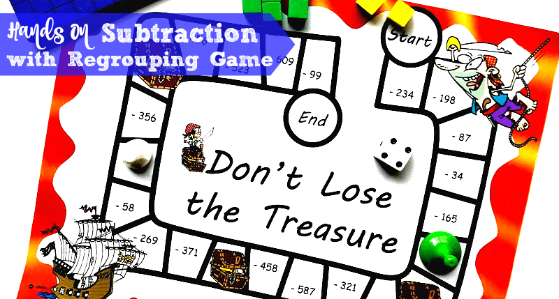 photo about Subtraction With Regrouping Games Printable identify Cost-free 3-Digit Subtraction with Regrouping Match