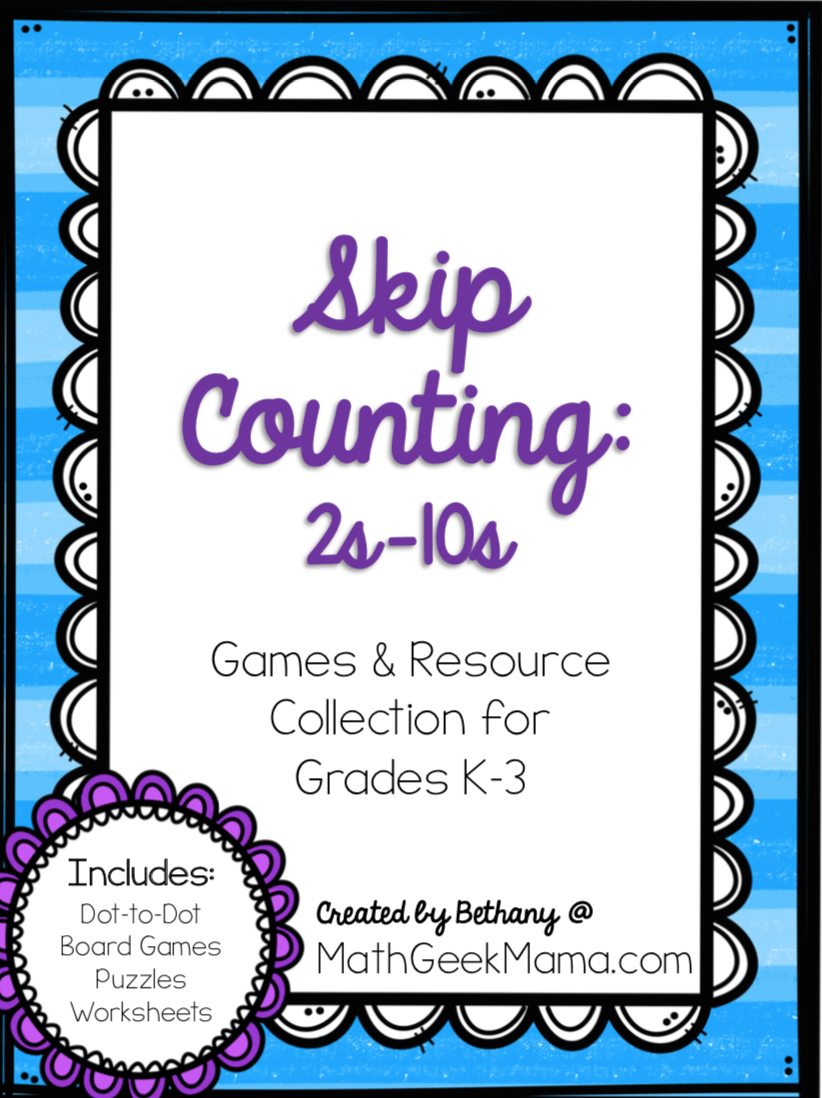 Skip Counting Games Collection